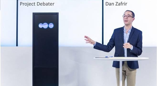 La IA de IBM fue capaz de debatir con humanos en tiempo real