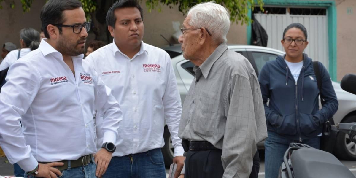 Hasta en 450 pesos compran el voto en Miguel Hidalgo, denuncia Romo