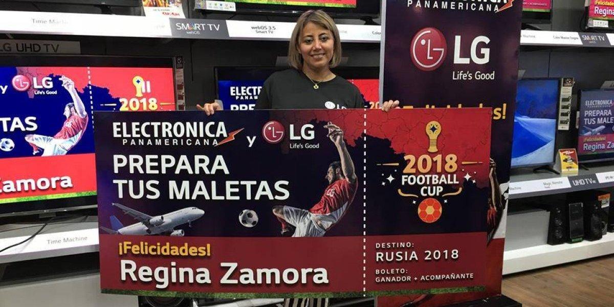 Guatemalteca celebra la oportunidad de viajar a Rusia