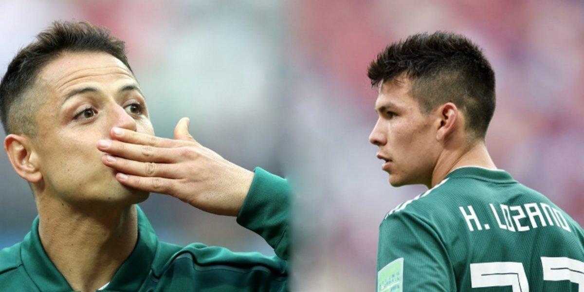 Ese chamaco va a hacer historia en el futbol: 'Chicharito' sobre Lozano