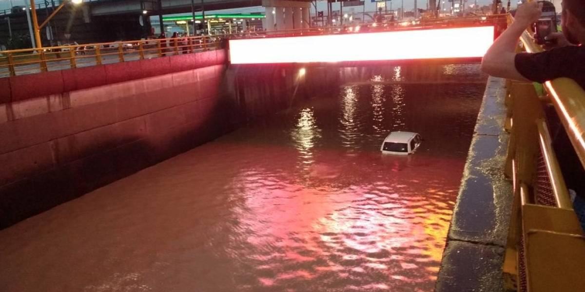 Fuerte tormenta inunda y causa estragos, ahora en Aguascalientes