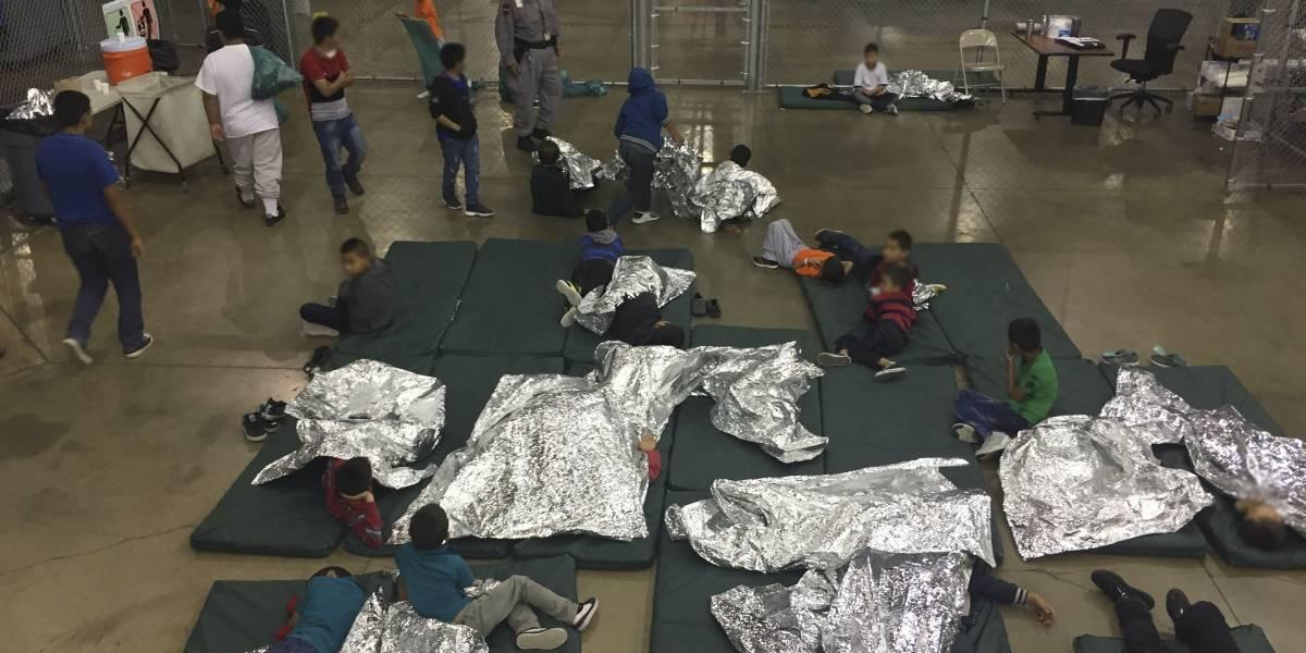 Migrante guatemalteca se reúne con su hijo en Estados Unidos