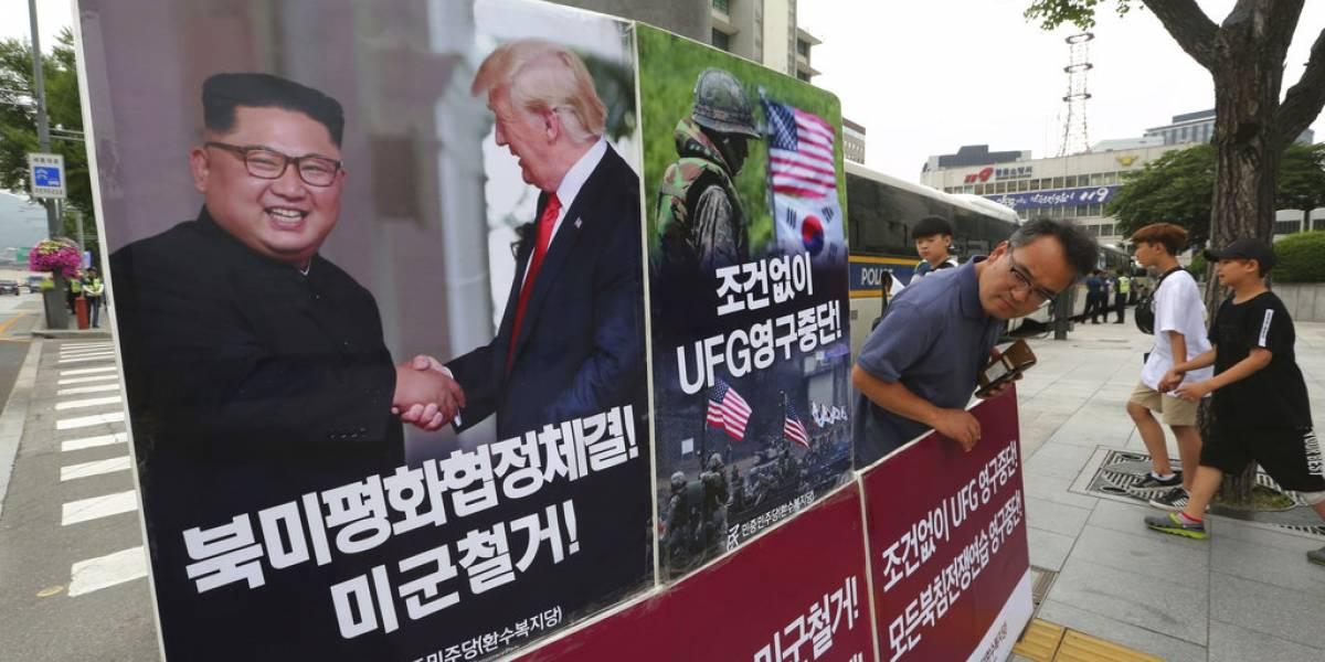 Corea del Sur apoya suspensión ejercicios militares con EEUU