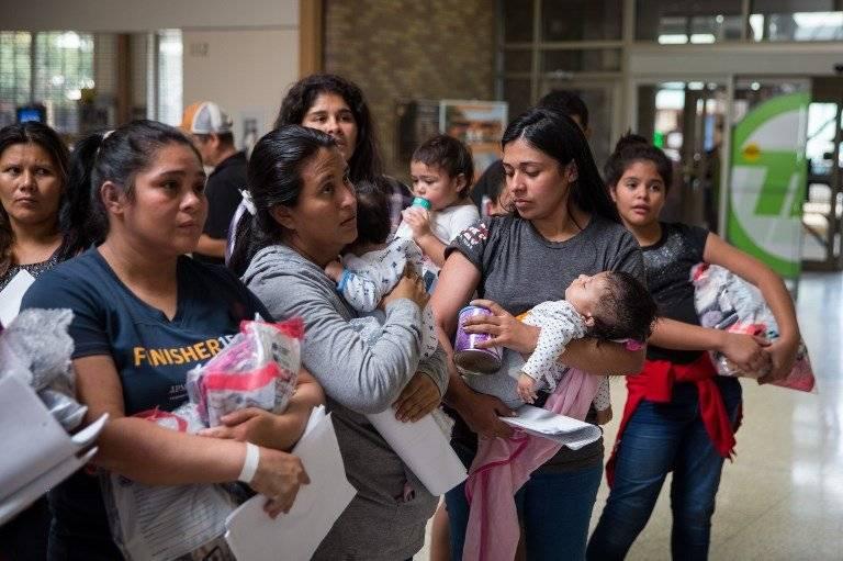 Desde el 1 octubre de 2017 hasta el 31 de mayo de este año se han detenido a 29 mil 278 unidades familiares guatemaltecas en Estados Unidos. Foto: AFP