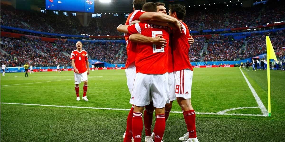 Copa do Mundo: Rússia vence o Egito por 3 a 1 e lidera o Grupo A