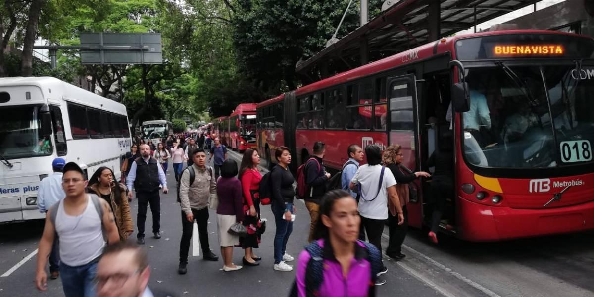 Plantón en Sener mantendrá caos en avenida Insurgentes