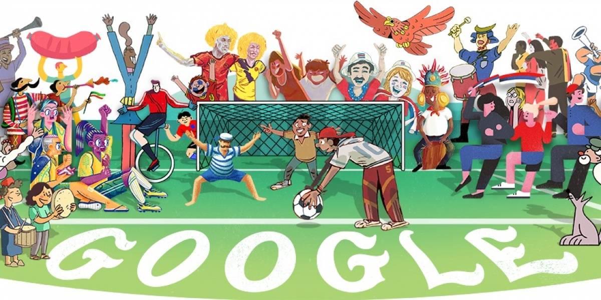 Los Doodles que Google hizo para las 32 selecciones del Mundial de Rusia 2018