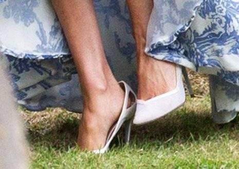 Le quedaron grandes los zapatos a Meghan