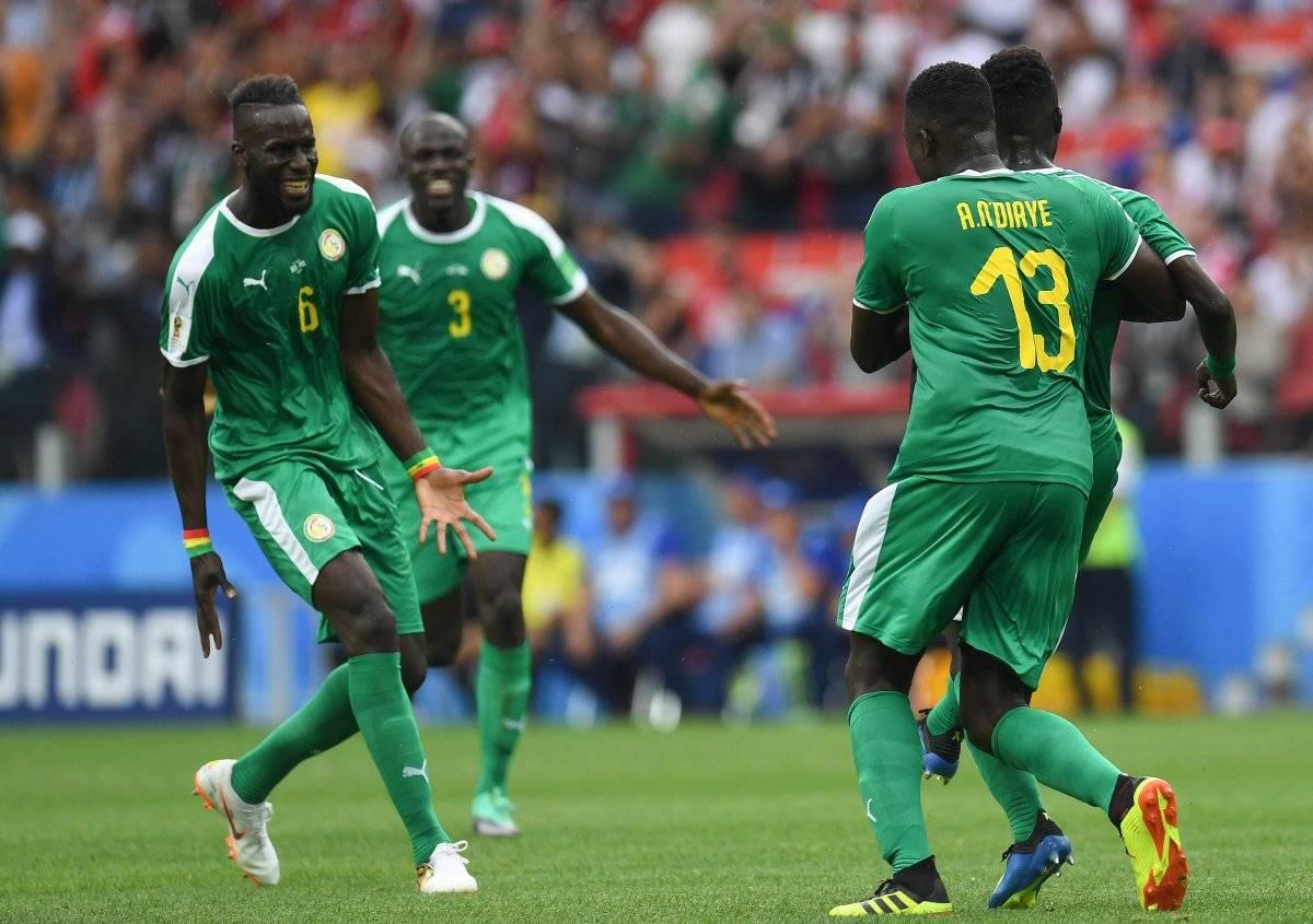 Senegal arrancó con buen pie el torneo.