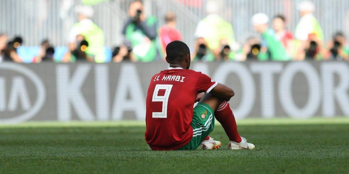 La afición se entristece tras la eliminación de Marruecos