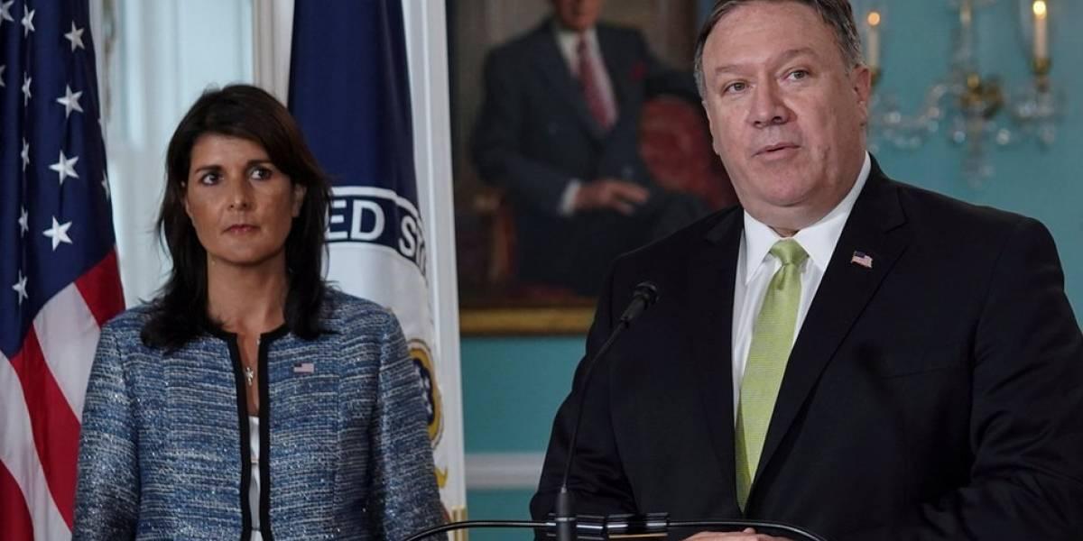 Las 3 razones de Estados Unidos para abandonar el Consejo de Derechos Humanos de la ONU