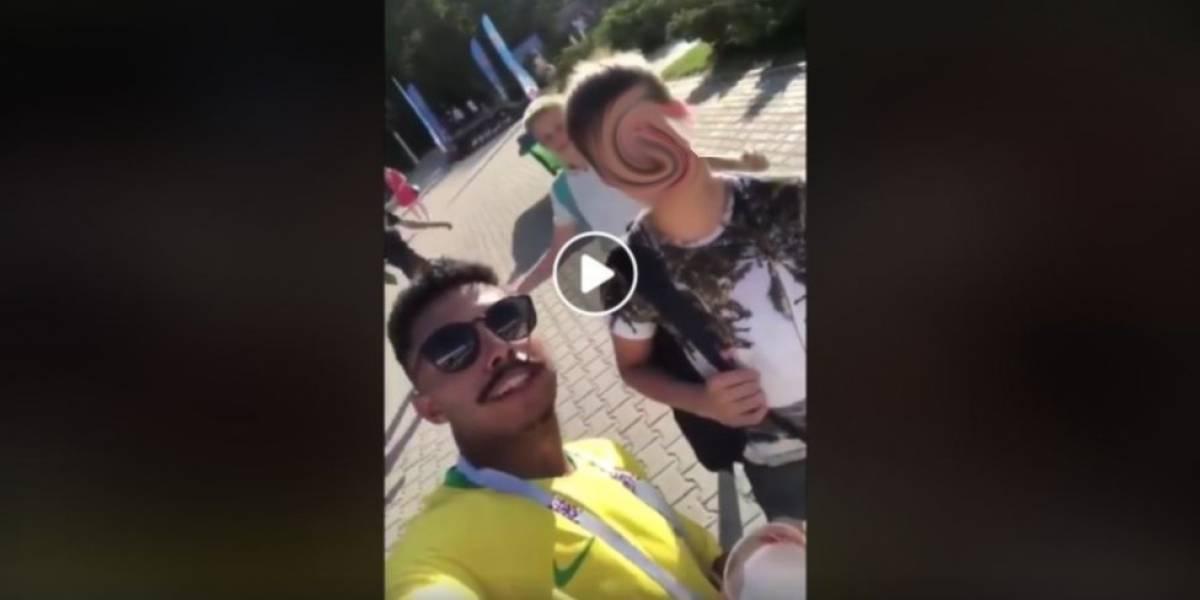Novos vídeos mostram brasileiros ridicularizando russos durante a Copa