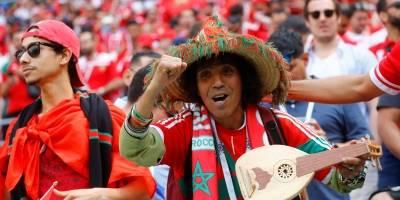 torcida marrocos portugal