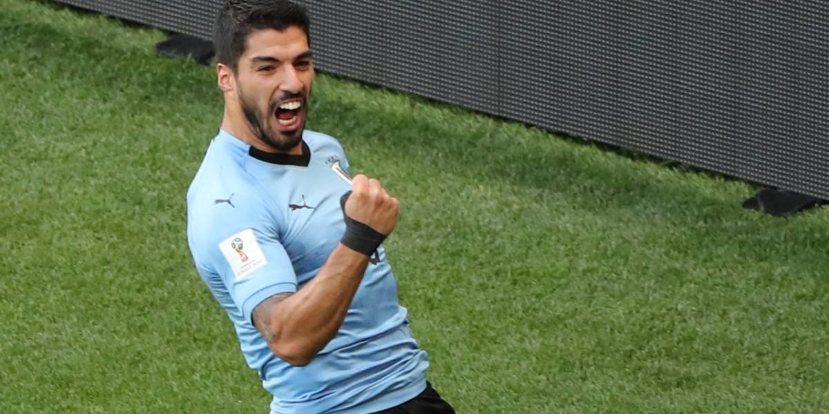 AO VIVO: Uruguai abre o placar contra a Arábia Saudita com gol de Suárez