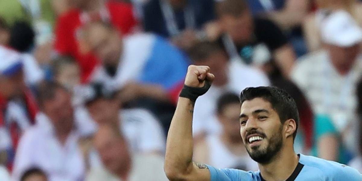 Uruguai vence a Árabia Saudita com gol de Suárez