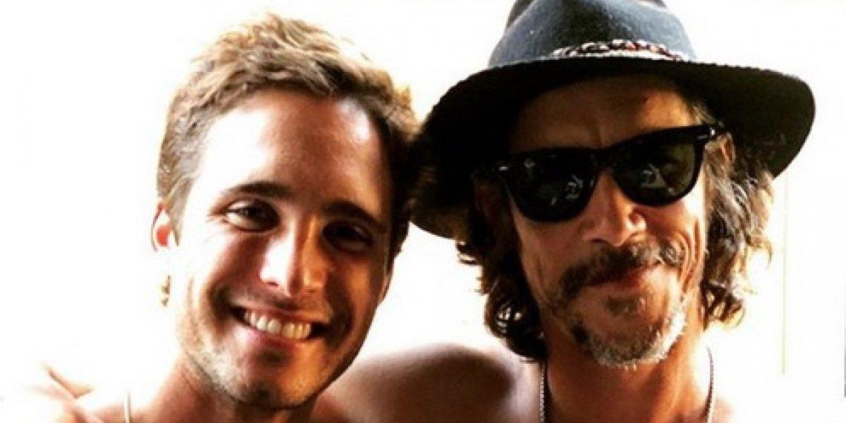 Diego Boneta se va de fiesta con 'Luisito Rey'