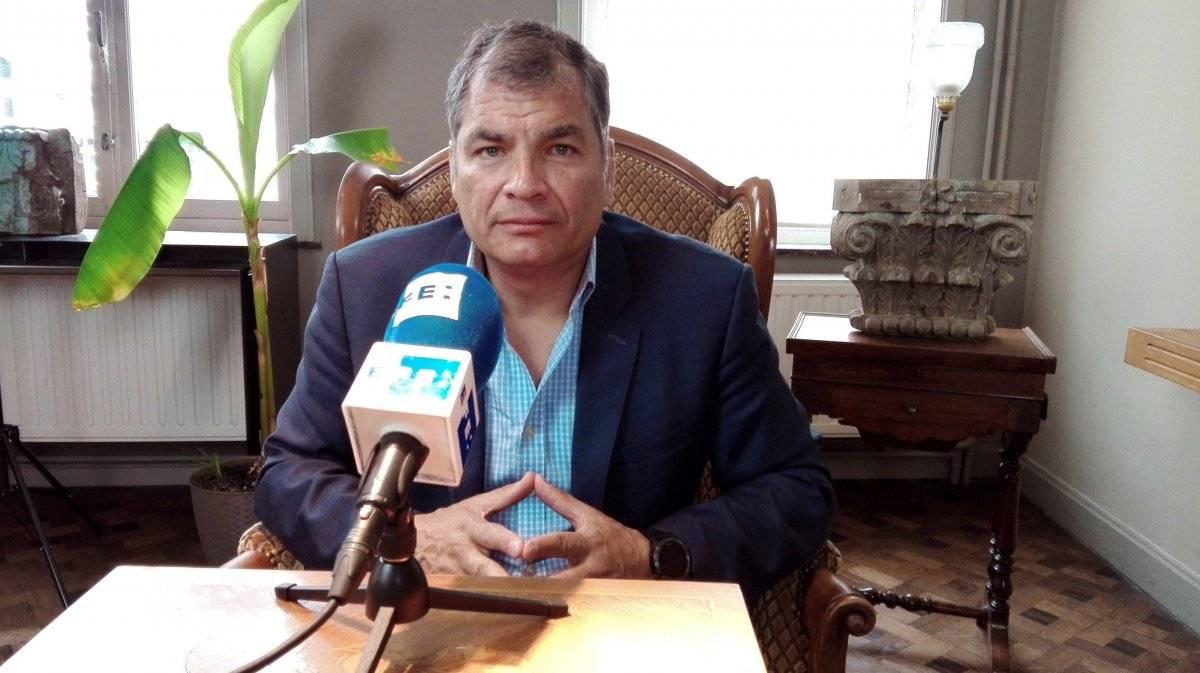 ExPresidente, Rafael Correa EFE