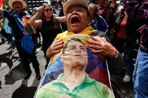 Protestas sobre Rafael C.