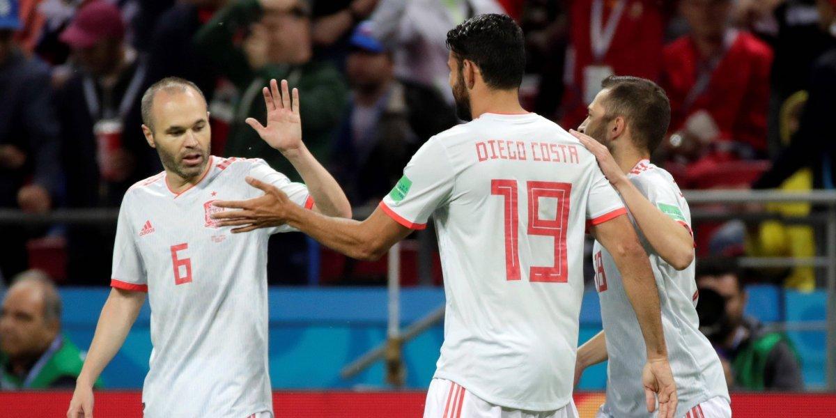 ¡La furia rosa! Pálida presentación de España contra Irán