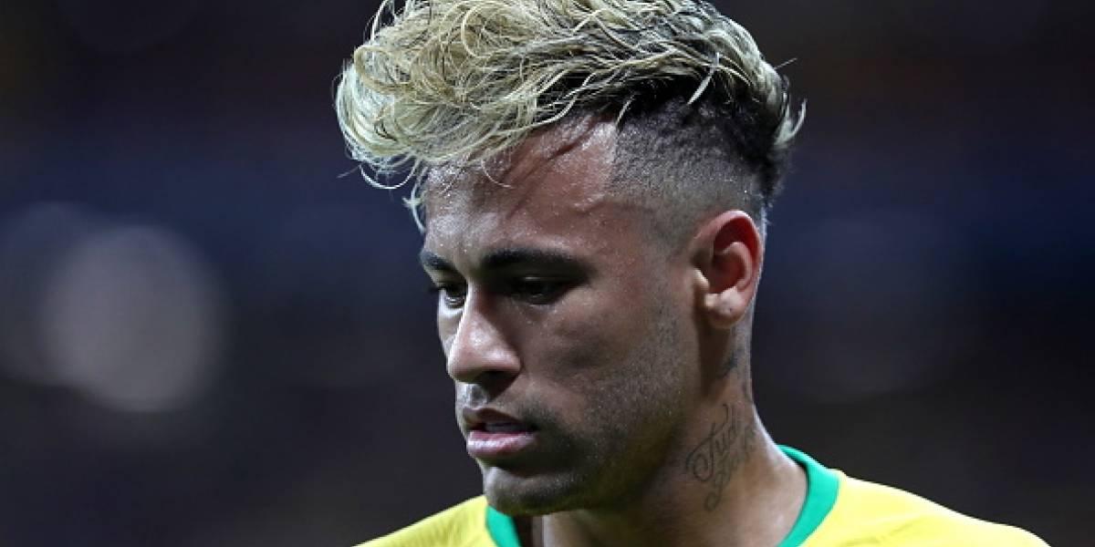 Neymar es criticado por su cambio de look