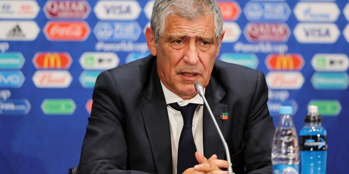 """DT de Portugal fue muy crítico con sus jugadores: """"No estoy contento con el juego"""""""