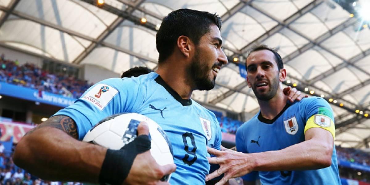 Rusia 2018: Luis Suárez realiza su 100ma aparición con la selección uruguaya