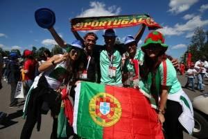 La victoria de Portugal fue celebrada por sus aficionados
