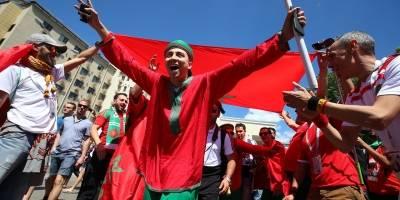 La afición portuguesa gozó en la previa del partido de su selección
