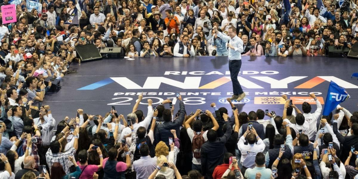 Anaya alista cierre en CDMX en el Ángel junto a Barrales