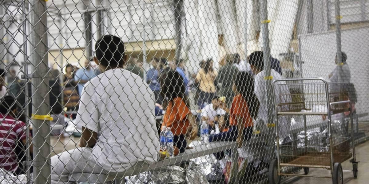 Galería: Así son las 'jaulas' de niños separados de sus familias en EU