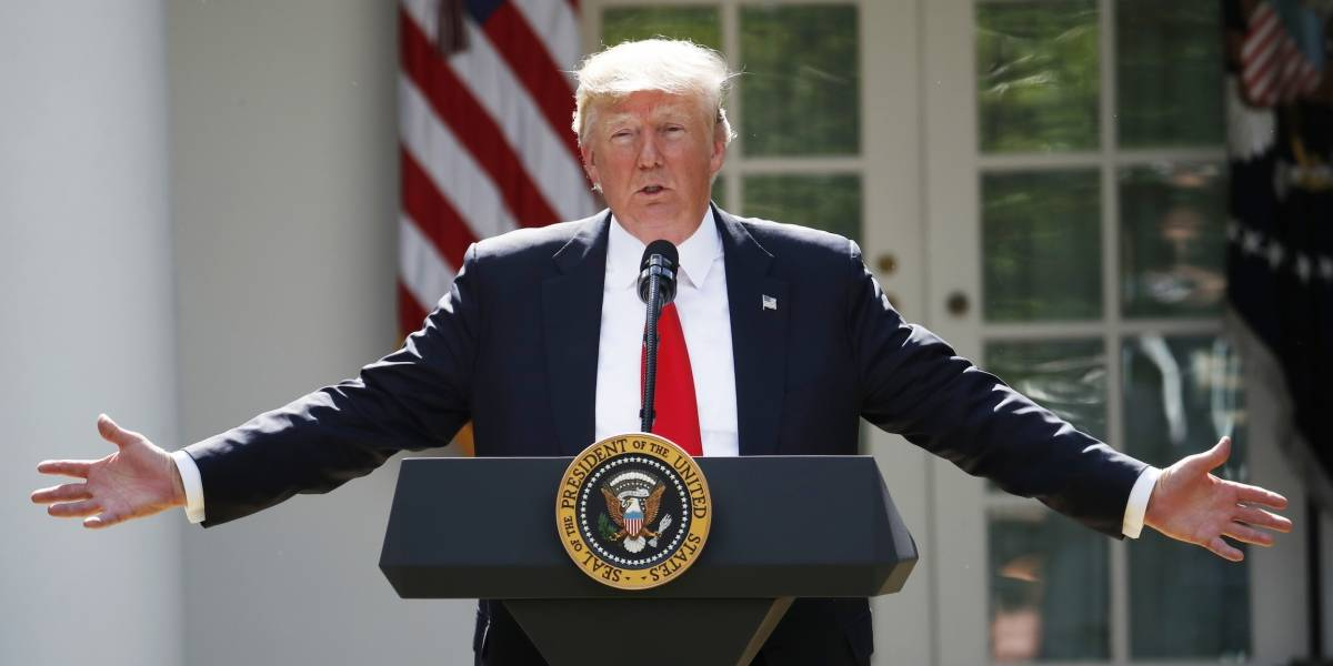 En realidad nuestras leyes migratorias son débiles: Trump