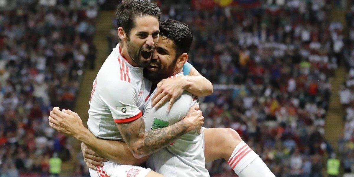 Irán vs España: Tercer gol de Costa para 'acariciar' la clasificación a octavos