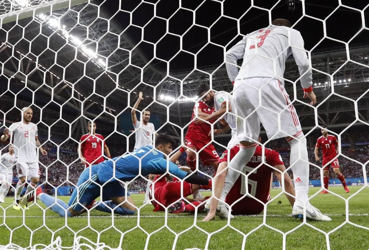 celebración de gol de Diego Costa AP