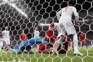 celebración de gol de Diego Costa