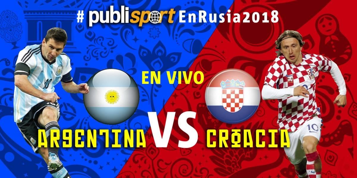 Croacia golea 3-0 a Argentina y los pone al borde de la eliminación