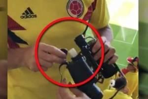 Aerolínea despide a colombiano que introdujo licor en binoculares