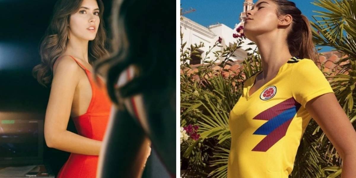 Paulina Vega vuelve a ser criticada, ahora por camiseta de la selección Colombia