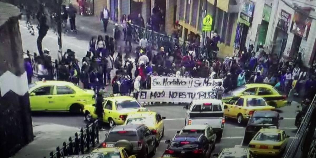 ¿Cuándo fue la última vez que los estudiantes del colegio Mejía se tomaron las calles?