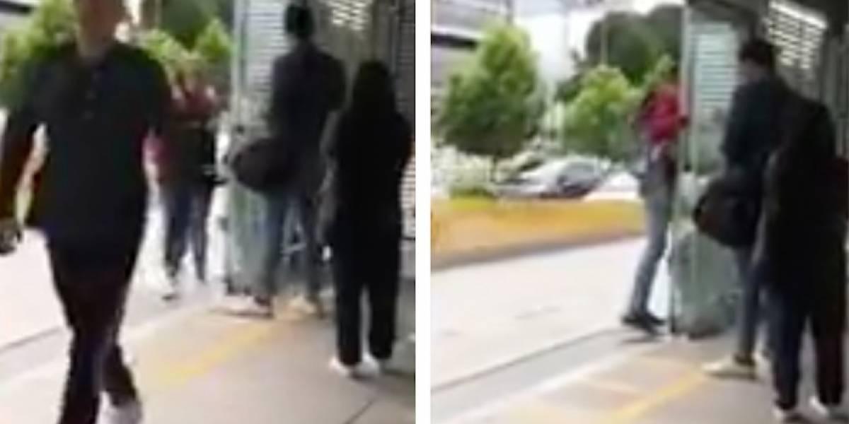 Video: indignación por ciudadanos que se cuelan en masa en esta estación de TransMilenio