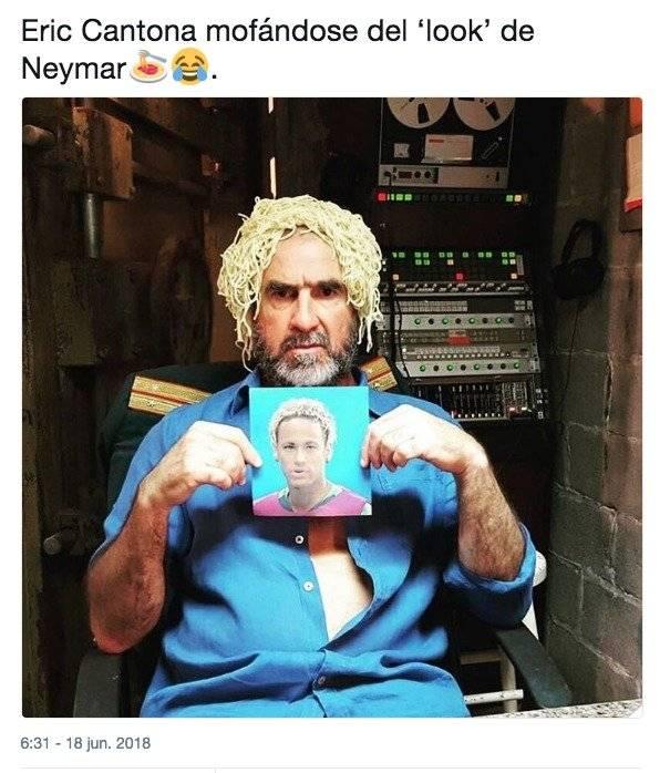 Usuarios publican memes por el nuevo look de Neymar