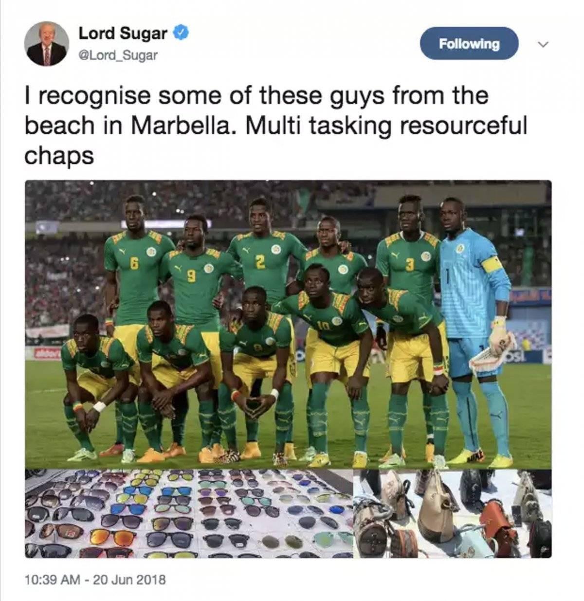 El que causó polémica por parte del presentador de la BBC.