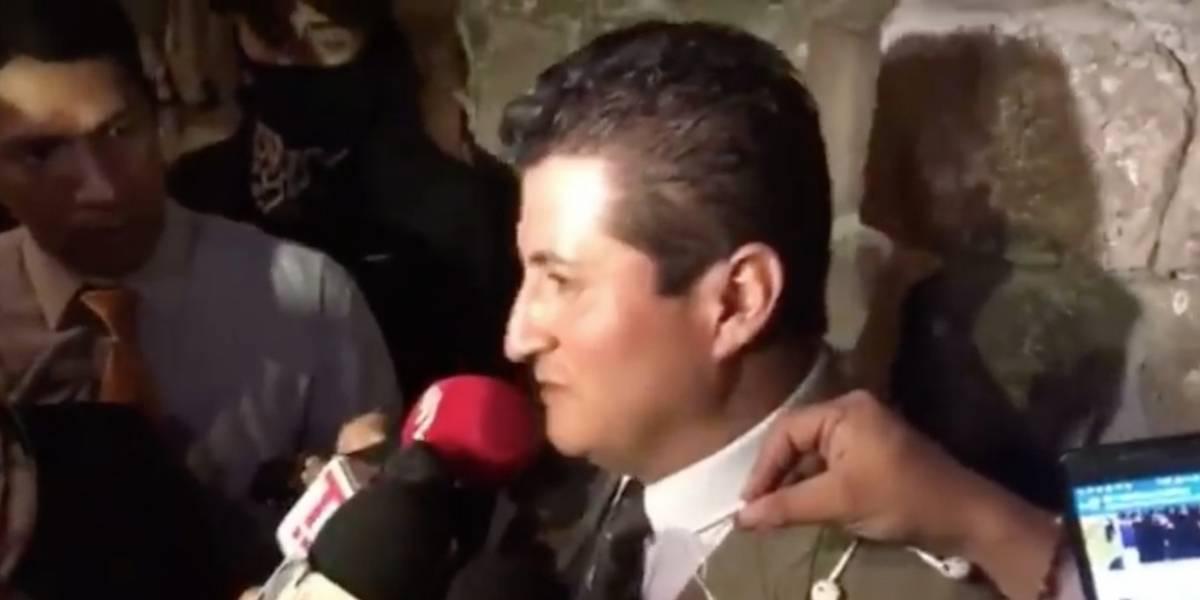 Profesor de colegio Mejía habló tras las protestas de estudiantes