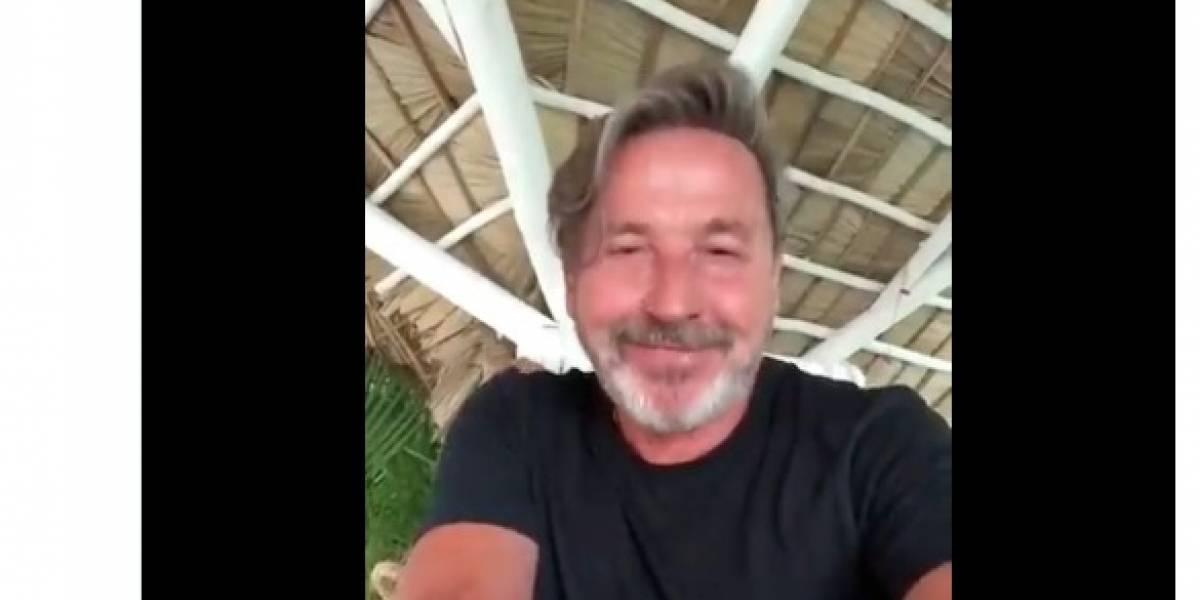 Vicente Fox tuitea video de Ricardo Montaner para que mexicanos piensen su voto