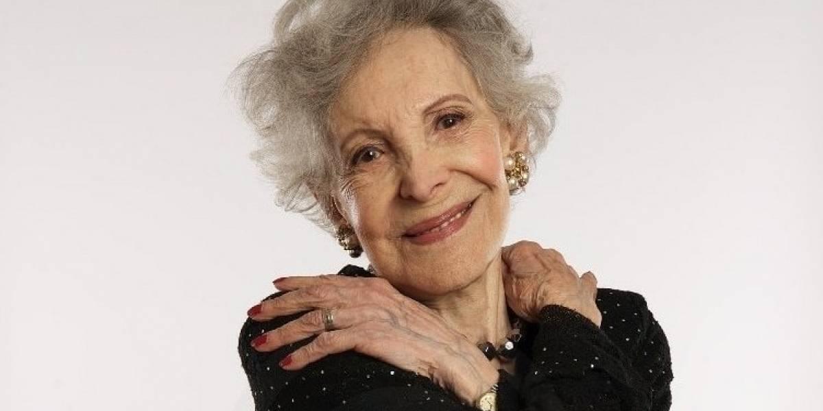 Falleció la actriz Nelly Meruane, a los 90 años