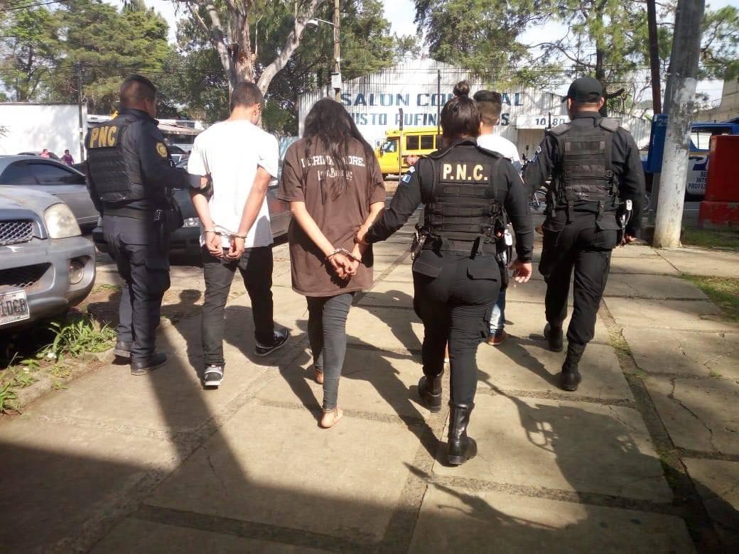 capturados en zona 21 por ataque contra taxista