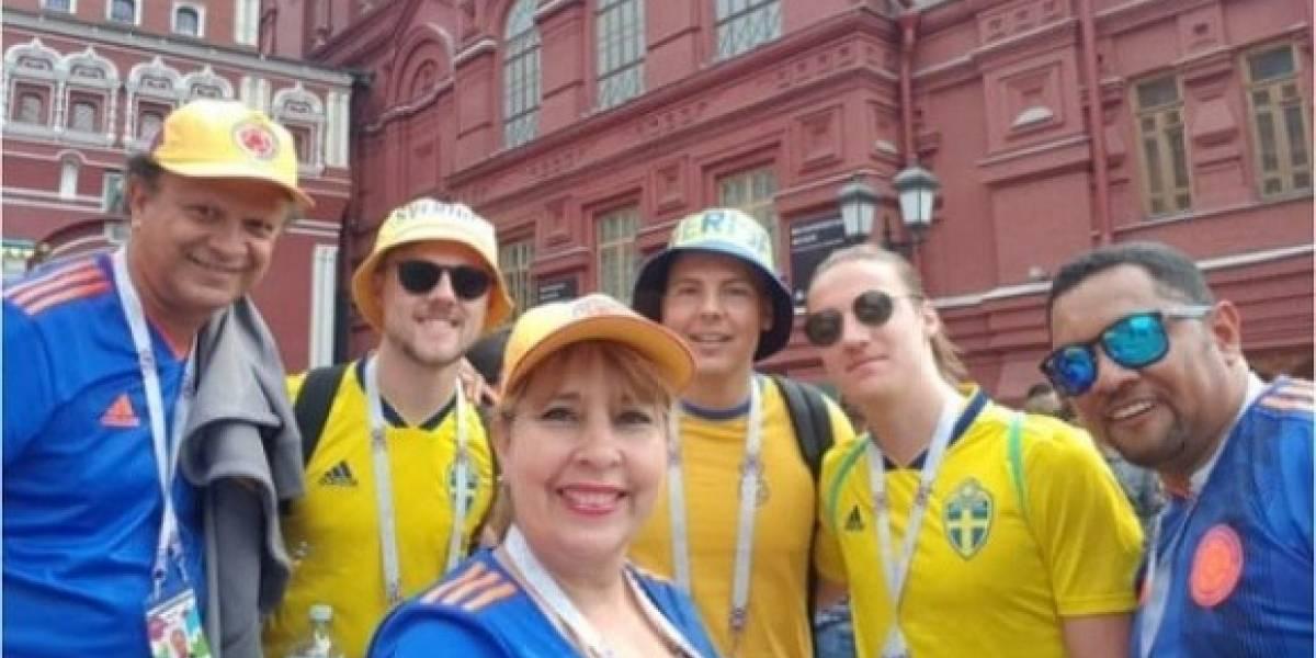 Mientras que Consejo sesiona, esta concejal se fue a disfrutar del Mundial de Rusia