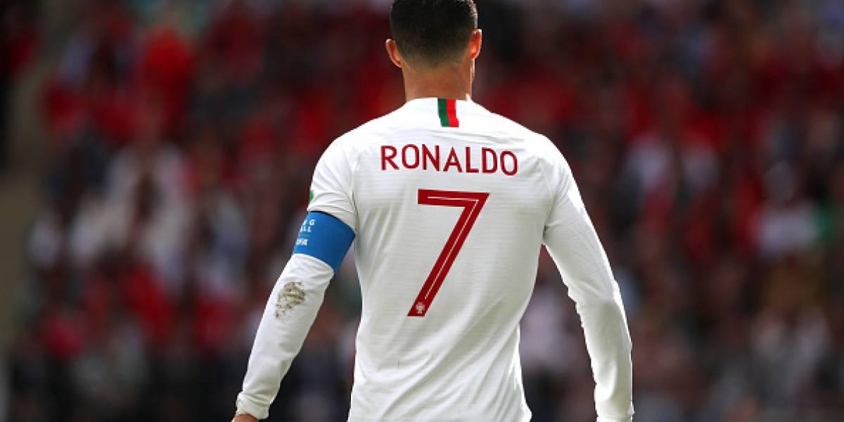 Cristiano Ronaldo es el máximo goleador europeo de selecciones