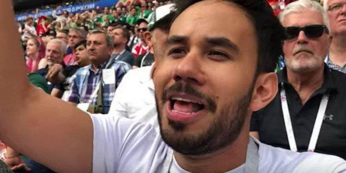 Werevertumorro balconea a diputado en el Mundial de Rusia 2018
