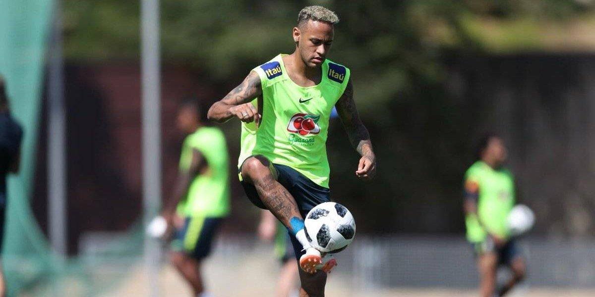 Respiran en Brasil: Neymar entrena normal y apunta a Costa Rica en Rusia 2018