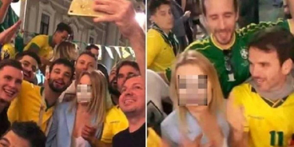 Policía brasileño será procesado por acosar a mujer en el Mundial de Rusia